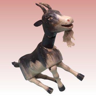 Vintage Schoenhut Painted Eye Billy Goat