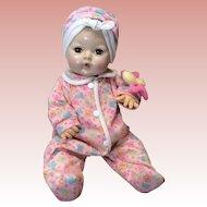 """15"""" Effanbee Dy-Dee Baby Caracul Wig Applied Ears Number 2"""