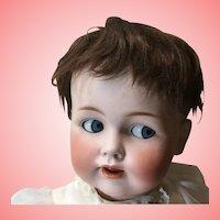 "Large 26"" Antique JDK 257 Flirty Eye Baby"