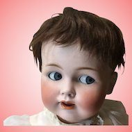 "Large 26"" Antique JDK 257 Flirty Eye Baby"