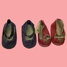 2Pair Of Vintage Terri Lee Doll Shoes