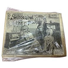 Vintage Schoenhut  Sheet Music Package