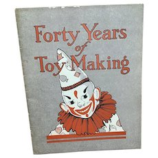 1975 40 years of toy making Albert Schoenhut booklet