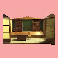 Sale ! 1890 to 1900 German Dollhouse Toy Store