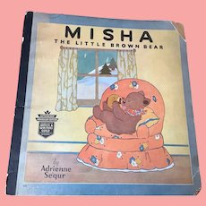 Misha The Little Brown Bear Book 1923