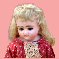 "17"" Alphabet Series Kestner Shoulder Head Doll"