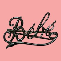 Vintage BeBe Name Pin For Your Favorite Doll