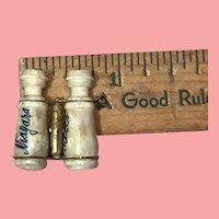 Tiny Bone Binoculars with Niagara's Falls Stanhope