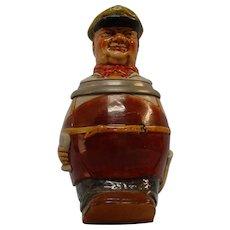 Jolly Brew Master Figural Stein