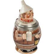 German Stein Man in Barrel