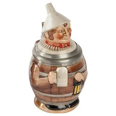 German Stein Man in Barrel