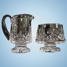 Waterford Lismore Sugar & Creamer
