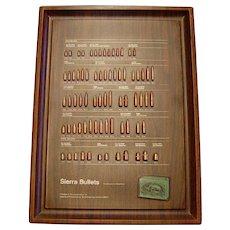 Sierra Cartridge Bullet Board