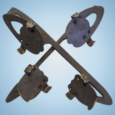 Winchester Clamp On Ice Skates