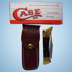 Case XX Hammerhead Lockback Knife With Sheath NIB