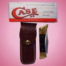 Case XX Hammerhead Lockback Knife With Sheath NIB