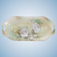 Weimar Germany Porcelain Tray