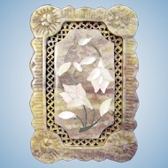 Alabaster Box with Mother of Pearl