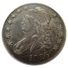 1826 Capped Bust Half Dollar PCGS Graded
