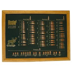 Nosler Trophy Grade Bullet Display Board