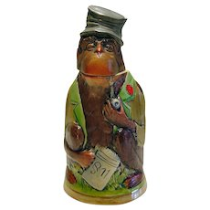 German Monkey Figural Stein