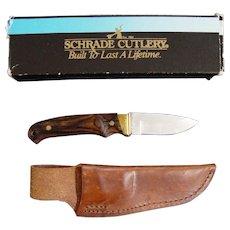 Schrade Mini Pro Hunter Knife With Sheath