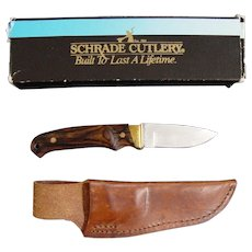 Schrade Mini Pro Hunter Knife With Sheath