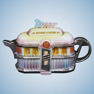 Teapottery Earls Diner Limited Edition 2004 Retro Teapot