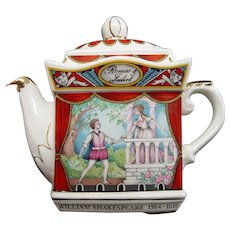 Sadler Teapot, Romeo & Juliet