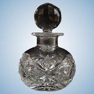 Hawkes Cut Glass Cologne Circa 1902