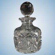 American Brilliant Period Cut Glass Cologne
