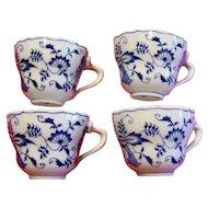 Blue Danube Tea Cups