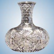 American Brilliant Cut Glass Hawkes, Gladys Pattern Carafe