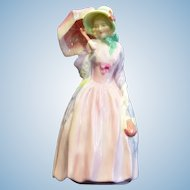 Royal Doulton Porcelain Figurine Miss Demure HN1402