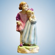 Royal Worcester Figurine Babes in the Wood Discontinued