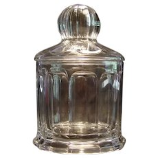 Heisey Glass Humidor 1908 Gorgeous! Rare!