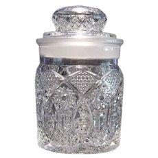 F. R. Rice Mercantile Cigar Company Jar