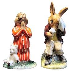 2 Royal Doulton Bunykins Figurines
