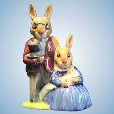 """Royal Doulton """"Family Photograph"""" Bunnykin"""