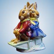 """Royal Doulton """"Sleigh Ride"""" Bunnykin"""