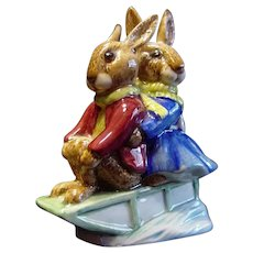 "Royal Doulton ""Sleigh Ride"" Bunnykin"