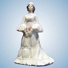 Coalport Porcelain Figurine The Bride