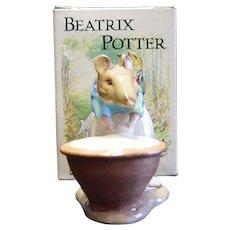 "Beswick Beatrix Potter ""Anna Maria"" Bunnykin"
