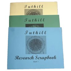 Tuthill Research Scrapbook Three Volume Set