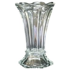 "Heisey #354 10"" Colonial Scalloped Top Vase"