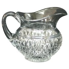 Vintage Cambridge Glass Mount Vernon Pitcher