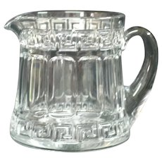 Heisey Greek Pattern Pitcher
