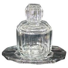 Heisey Puritan (Colonial) Pattern Crushed Fruit Jar