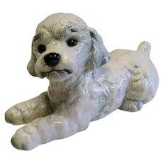 Large Porcelain  Goebel Poodle