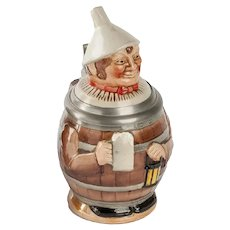 German Man in Barrel Stein